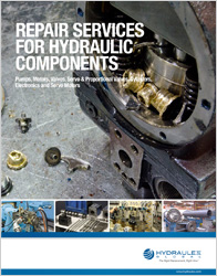 Hydraulic Component Repair Solutions Brochure