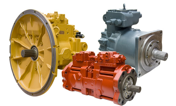 Remanufactured Kawasaki Hydraulic Pumps & Motors - K3V, K3VL, K5V, MB, MX, M2X and NV Series