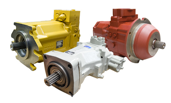 Remanufactured Linde Hydraulic Pumps & Motors - HPR, HPV, BPR, BPV