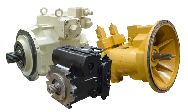 Remanufactured Rexroth Hydraulic Pumps & Motors - A4V, A7V, A8V, A10V, A11V