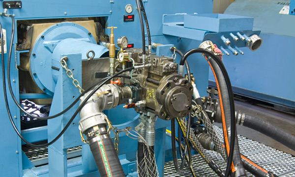 Hydraulic Pump & Motor Repair Services at Hydraulic Repair and Design - Testing a Hydraulic Pump