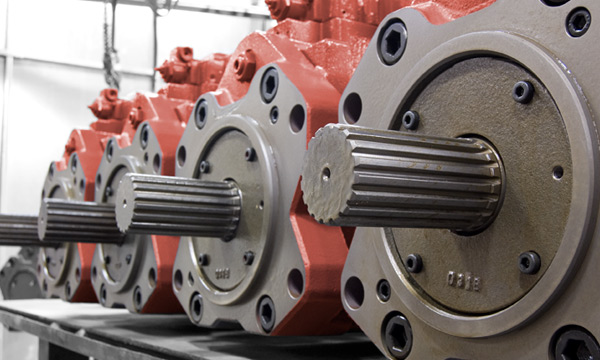 Hydraulic Pump & Motor Reman Exchange at Hydraulic Repair and Design